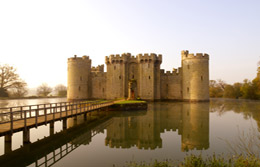 bodiam castle by Clive Sawyer