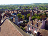 View from St Mary's Church Tower by Clive Sawyer