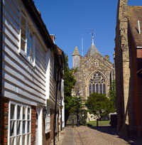 St Mary's Rye by Clive Sawyer
