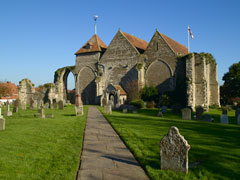 Winchelsea Church by Clive Sawyer